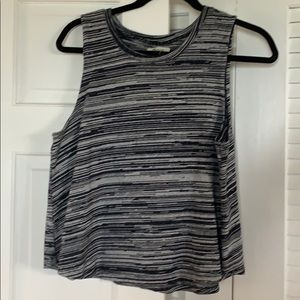 Madewell cropped sweater tank
